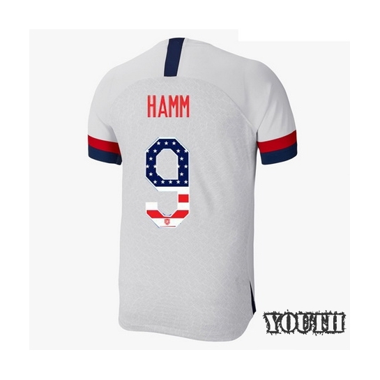 2019/20 USA Home Mia Hamm Youth Jersey Independence Day