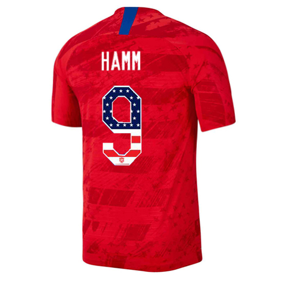 2019/20 USA Away Mia Hamm Men's Jersey Independence Day
