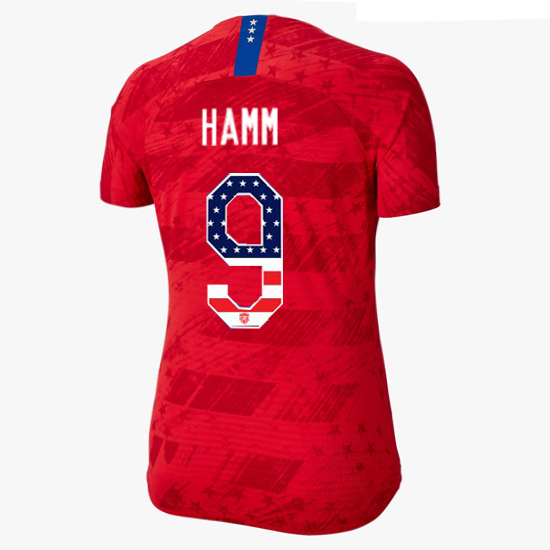 2019/20 USA Away Mia Hamm Women's Jersey Independence Day