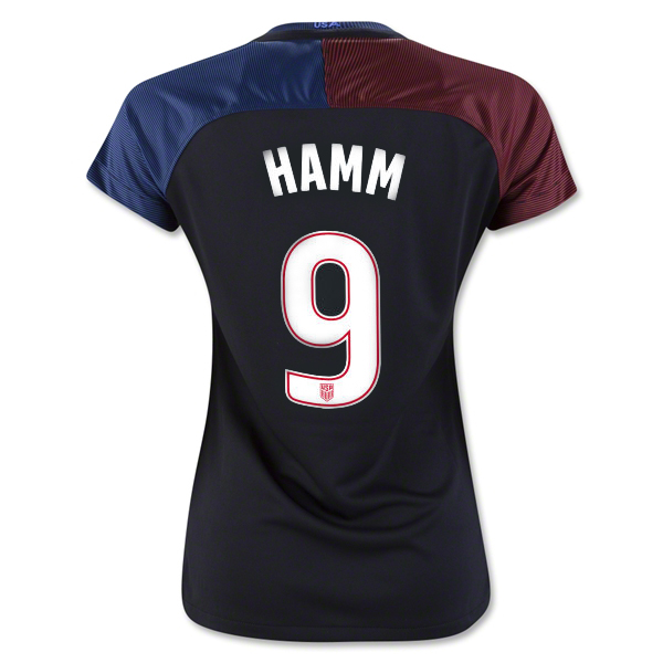 2016/17 USA Away Mia Hamm Women's 3-Star Soccer Jersey