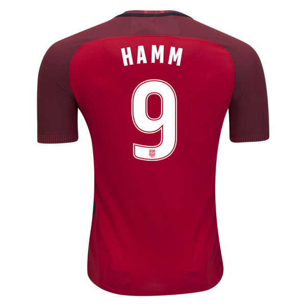 2017/18 USA Third Mia Hamm Men's Authentic Soccer Jersey (#9)