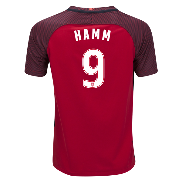 2017/18 USA Third Mia Hamm Youth Soccer Jersey (#9)